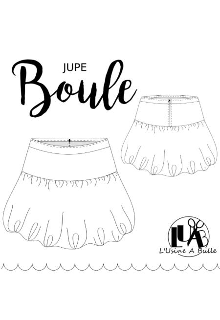 Patron couture Jupe Boule - L'Usine à Bulle