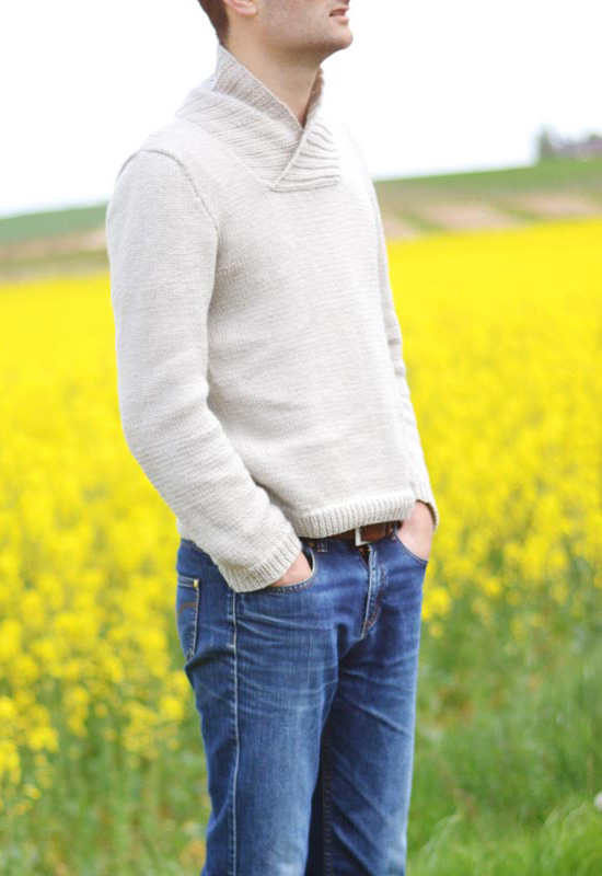Patron tricot Pull Manu - A&A Patrons