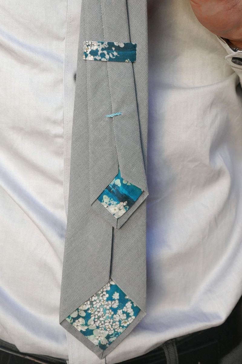Patron couture Cravate 7 plis - Petits D'om