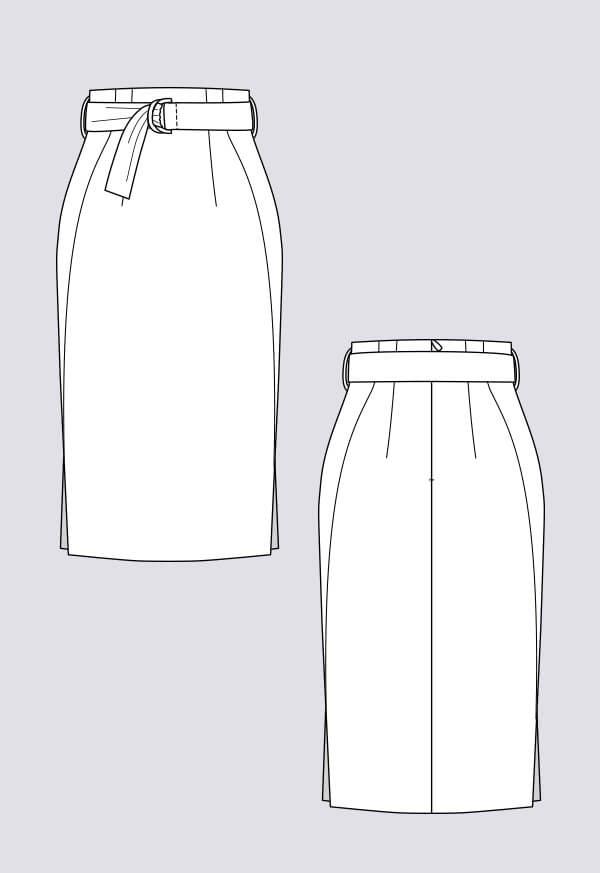 Patron Jupe crayon Pulmu - Named Clothing