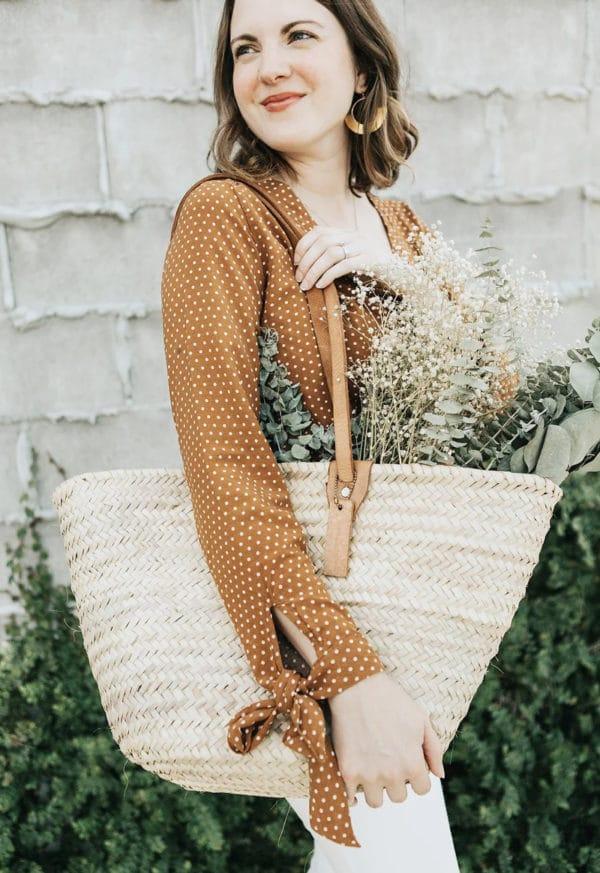 Patron de couture Blouse Seoul Blossom - Sew to Grow