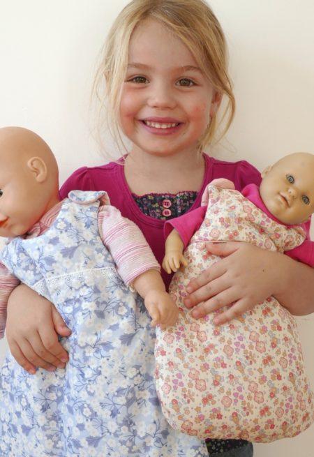 Patron Turbulette pour poupée - Petits D'om