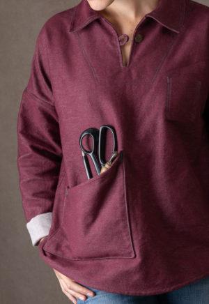 Patron Vareuse James - Ready To Sew