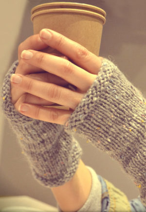 Fiche tricot Mitaines Minute - A&A Patrons