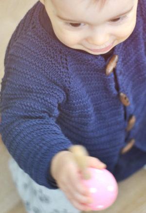 Patron Gilet Margot bébé - A&A Patrons