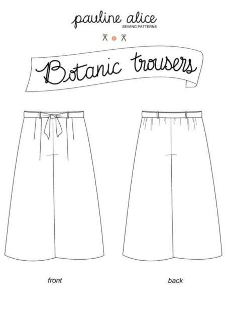 Patron Pantalon Botanic - Pauline Alice