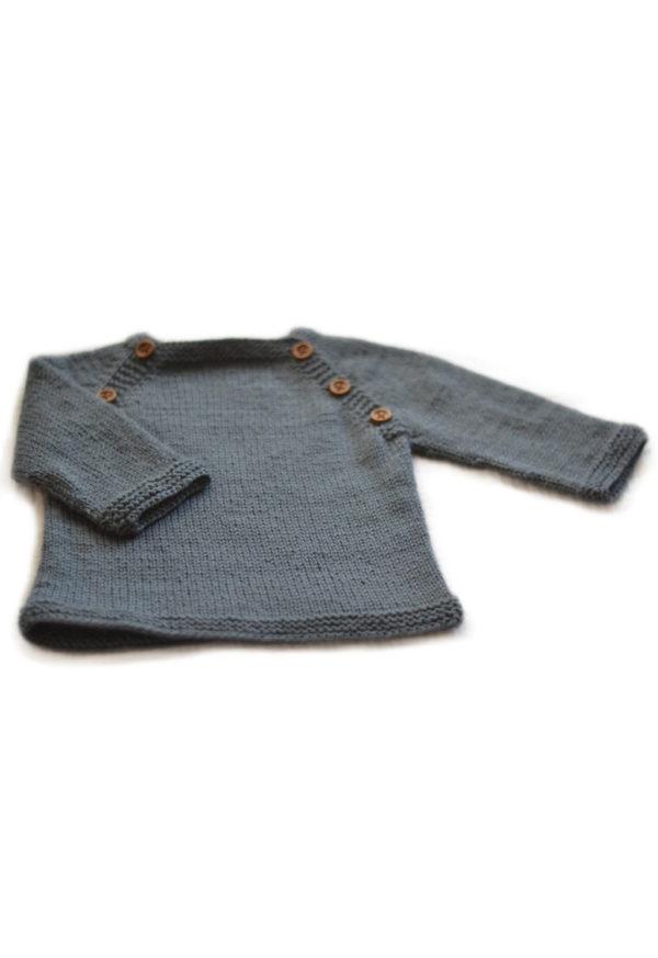 Fiche tricot Pull bébé Lucien - A&A Patrons