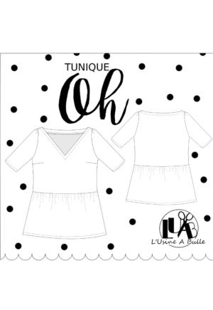Patron de couture Tunique Oh - L'Usine à Bulle
