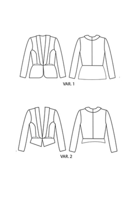 Patron Blazer Bellatrix - Papercut Patterns