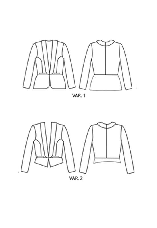 Patron Blazer Bellatrix - Papercut Patterns