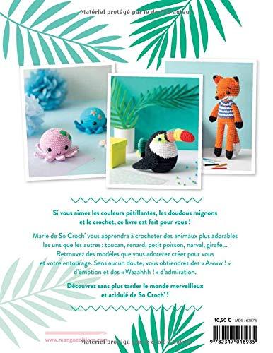 Livre crochet Adorables animaux
