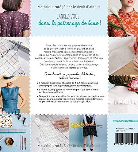 Livre couture Apprendre à créer ses patrons
