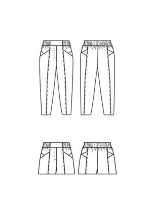 Patron couture Pantalon Palisade - Papercut Patterns