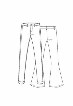 Patron Pantalon Alumette - Lot Of Things