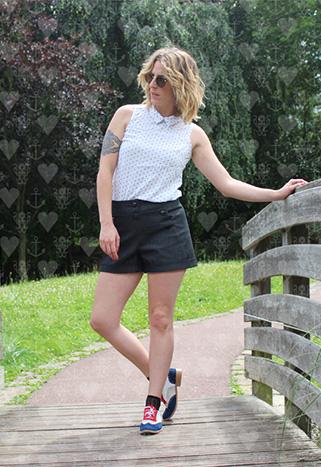 Patron de couture Short Marinette - Lot Of Things