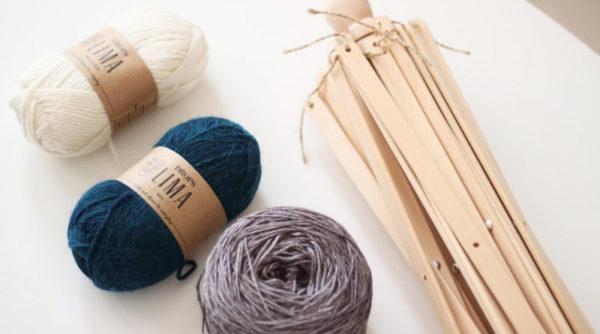 Bobiner un écheveau de laine