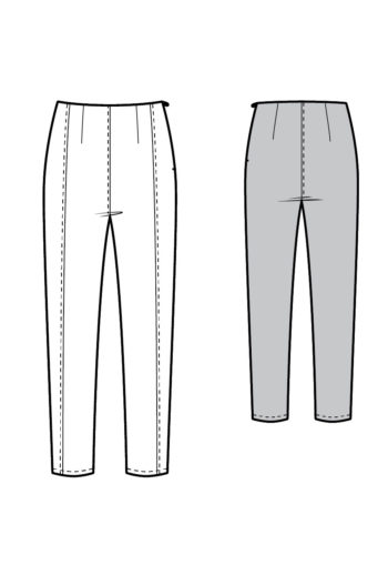 Patron Pantalon Mile End - Kommatia Pattern