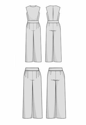 Patron Combinaison/pantalon Acacia - Orageuse