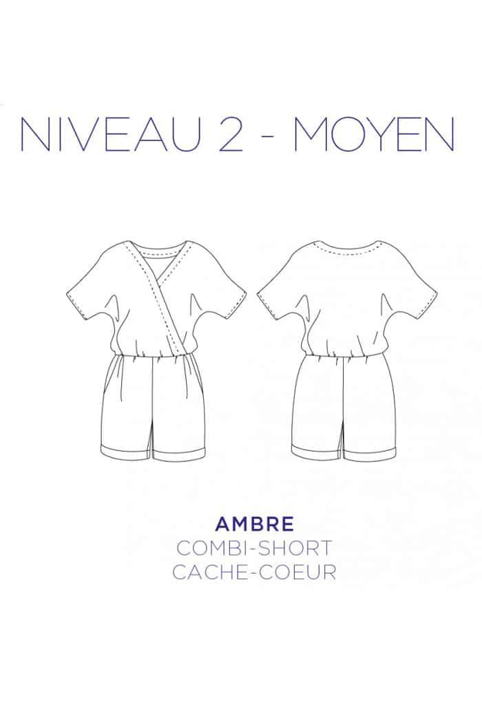 Combi-short Ambre - C'est Moi le Patron par Coralie Bijasson