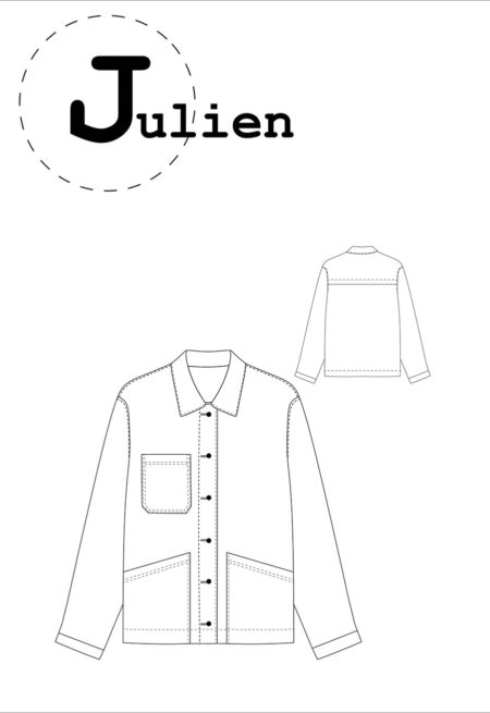 Patron Veste Julien - Ready To Sew
