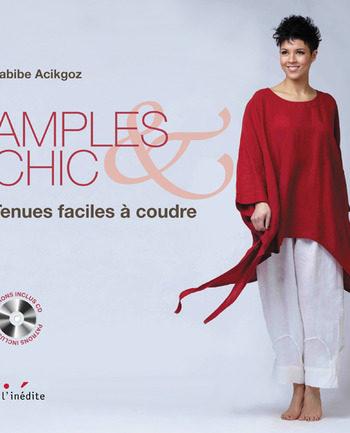 Livre Amples & Chic - tenues faciles à coudre