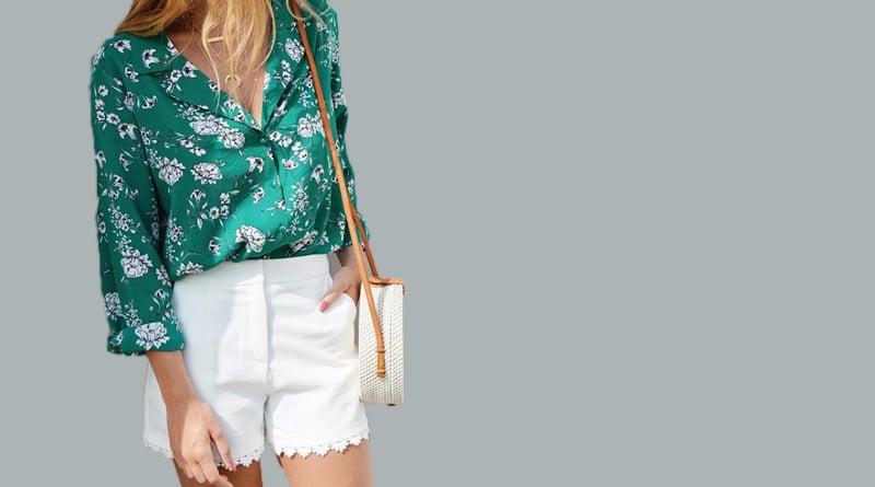 Look fleuri & couture