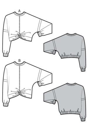 Patron Sweat Iris - Kommatia Pattern