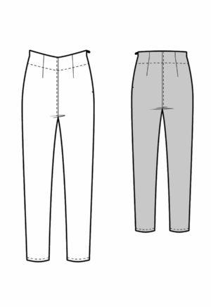 Pantalon skinny Rachel - Kommatia Patterns