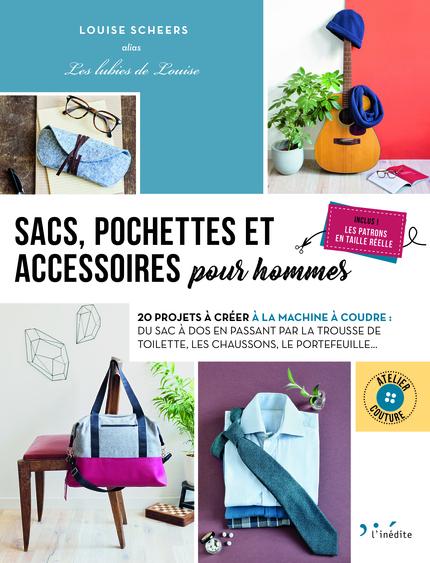 Livre sacs, pochettes et accessoires pour hommes