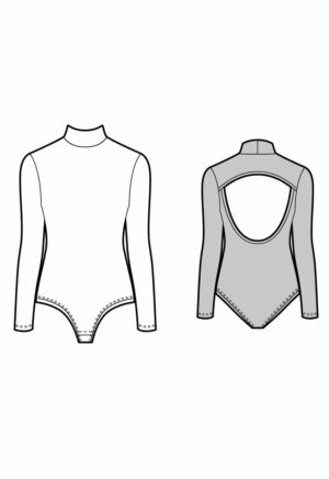 Patron Body Trapeze - Kommatia Patterns