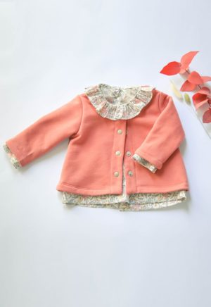 Patron enfant Gilet Monceau - Cosy Little World