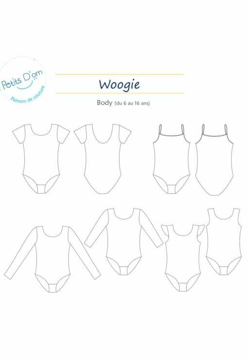Patron enfant Body Woogie - Petits d'Om