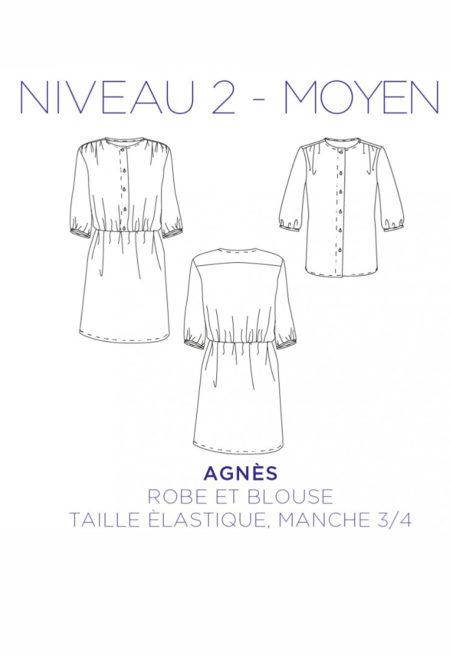 Patron Blouse / robe Agnes - C'est Moi le Patron