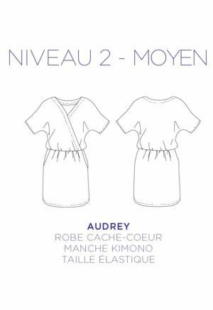 Patron couture Robe Audrey - C'est Moi le Patron