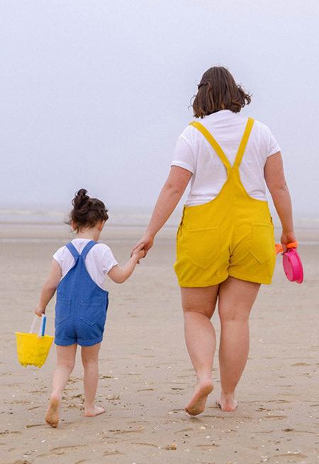 Patron Pack duo salopette Oasis Femme +Enfant - Petit Patron