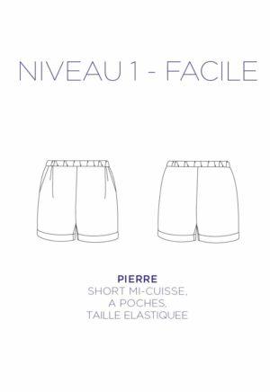 Patron Short Pierre - C'est Moi le Patron