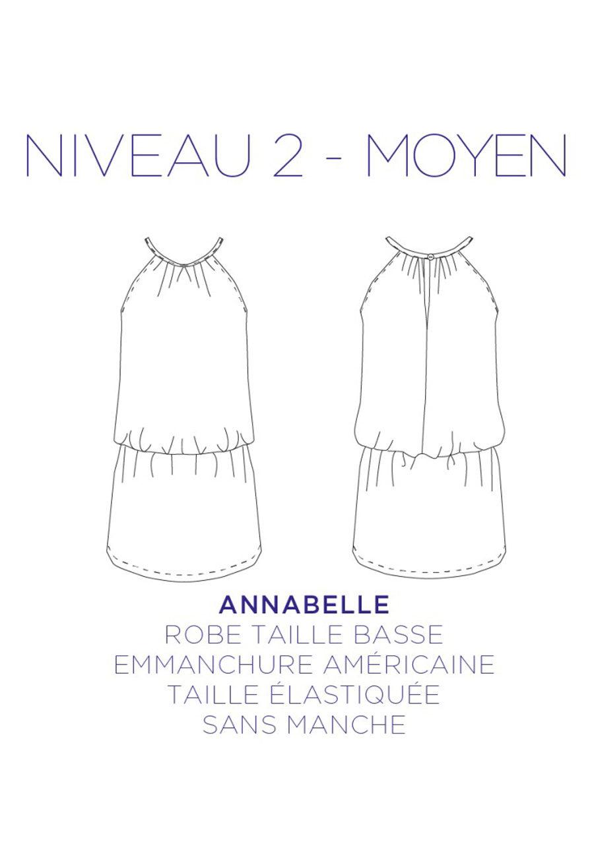 Patron de couture Robe Annabelle - C'est Moi le Patron