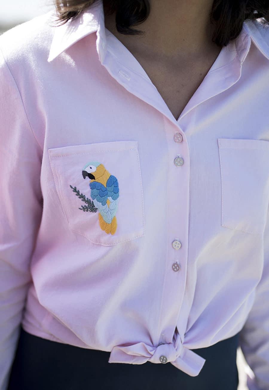 Patron de couture Chemise Albane - Chez Machine