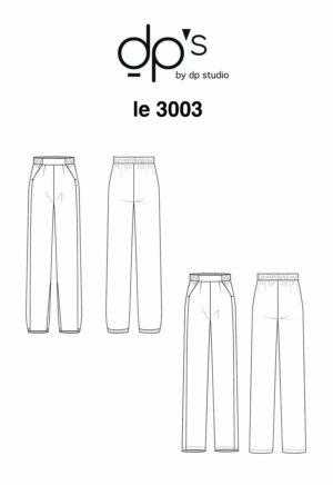 Pantalon fluide 3003 - DP Studio
