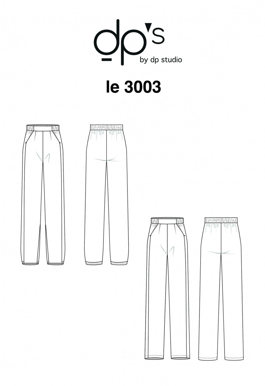 Pantalon fluide 3003 - DP Studio