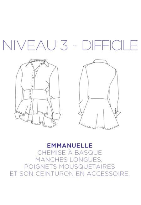 Chemise Emmanuelle - C'est Moi le Patron