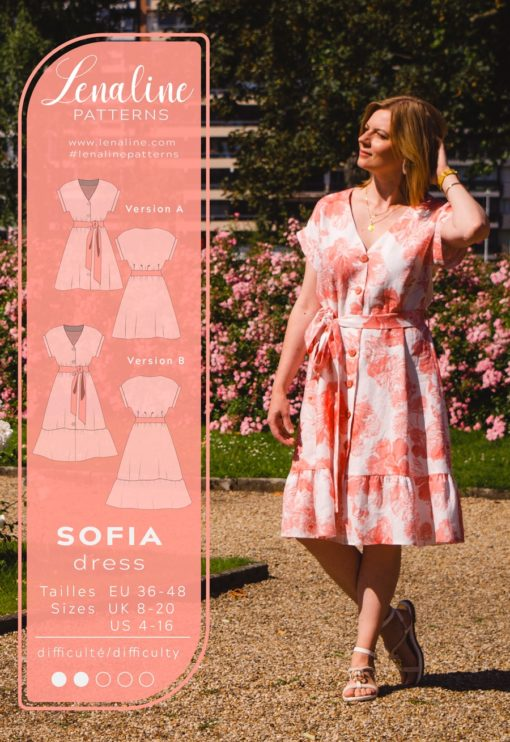 Patron de couture Robe Sofia - Lenaline