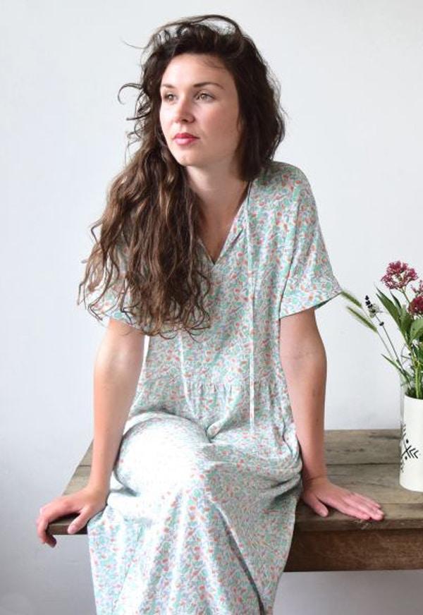 Patron De Couture Robe Guinguette Oh My Pattern