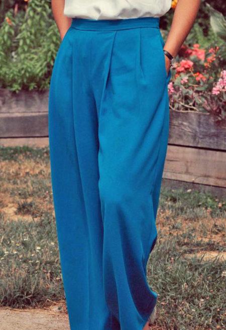 Pantalon Plume - Popeline et Linon