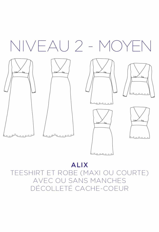 Robe T-shirt Alix - C'est Moi le Patron par Coralie Bijasson