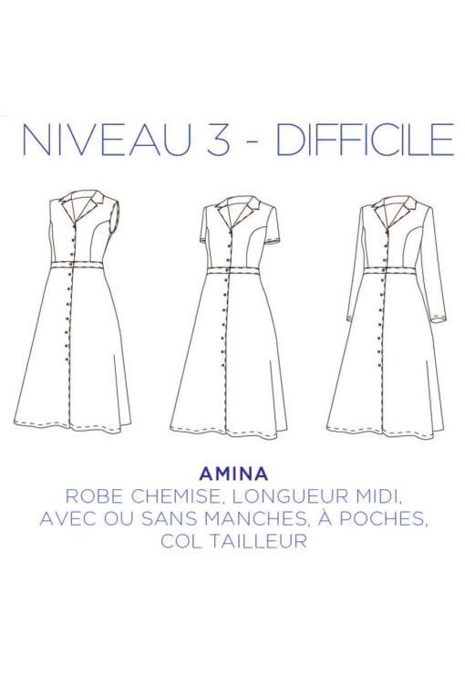 Robe Amina - C'est Moi Le Patron