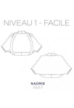 Patron Gilet Naomie - C'est Moi le Patron