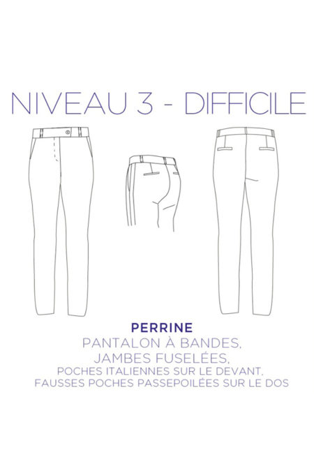 Pantalon Perrine - C'est Moi le Patron