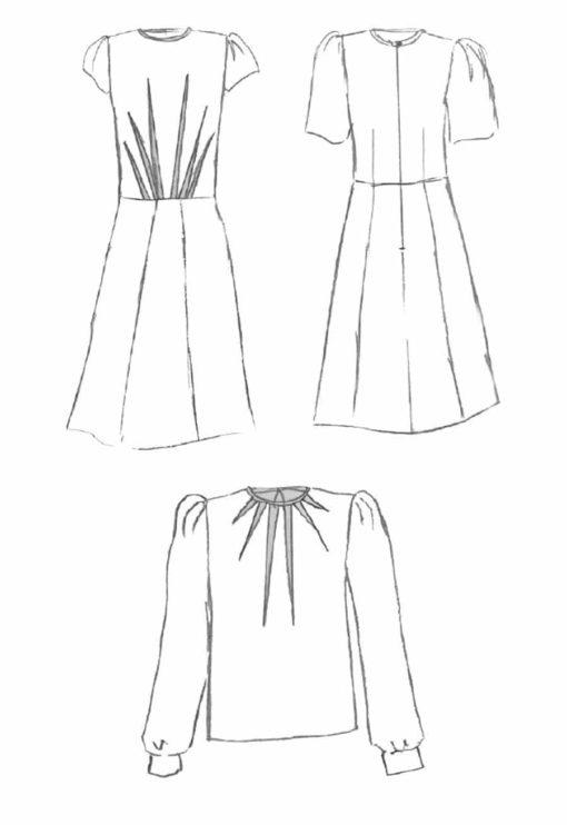 Robe / blouse Zénith - Maison Fauve