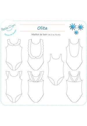 Patron Maillot de bain Olita - Petits D'om